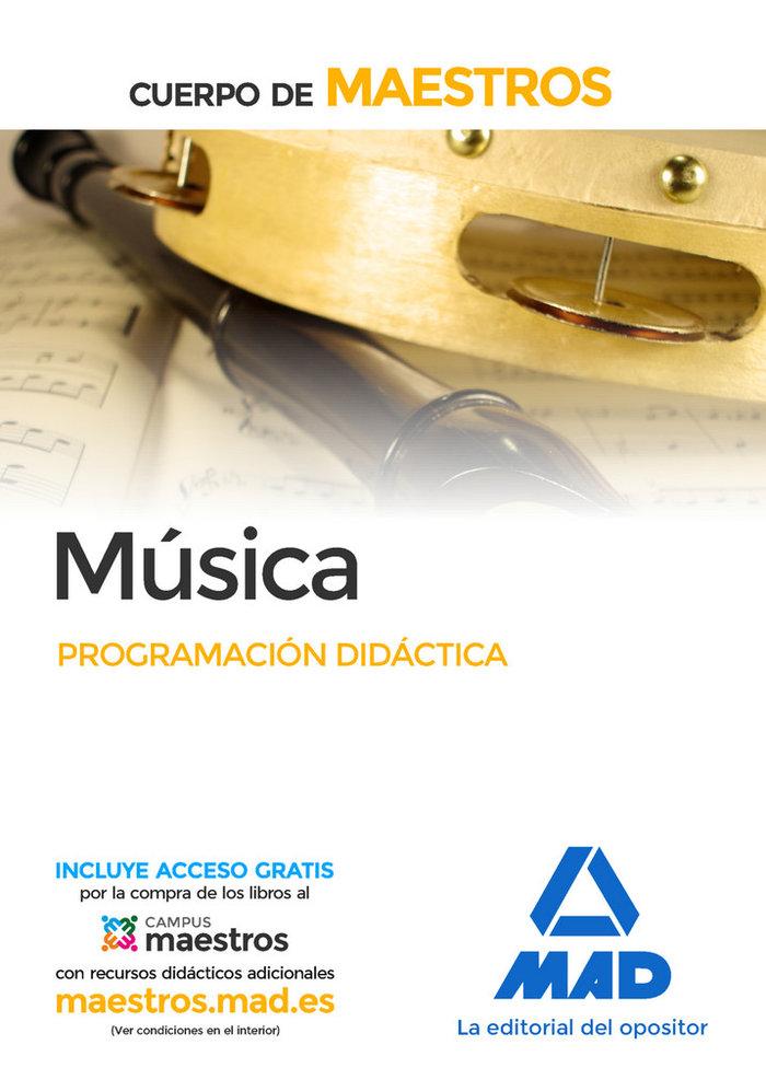 Programacion didactica musica cuerpo de maestros
