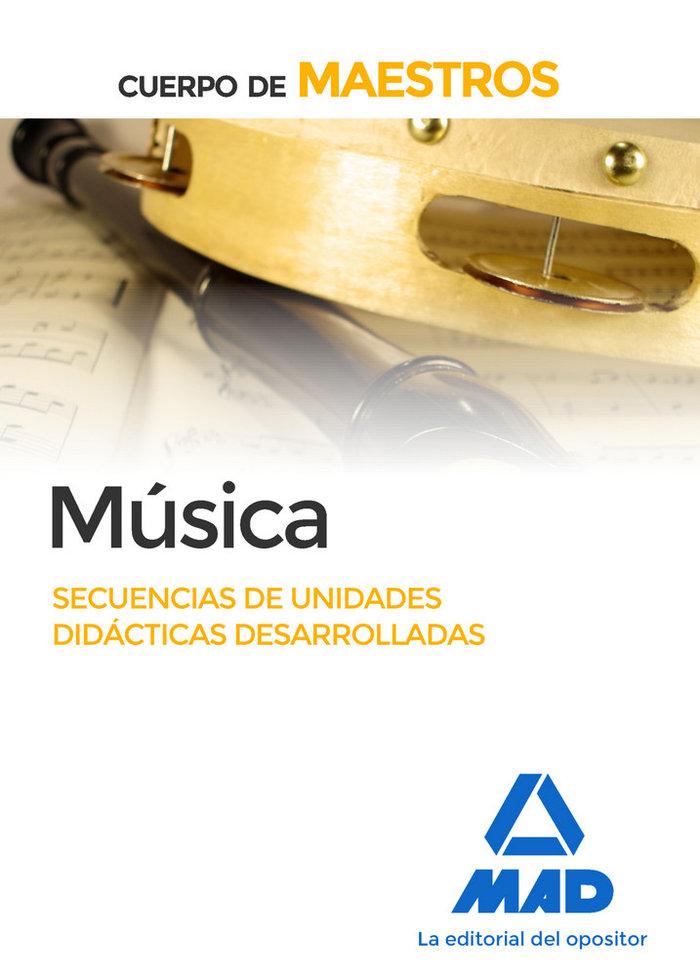 Maestros musica secuencias unidades didacticas desarrollada