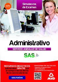 Simulacros de examen para administrativos del sas