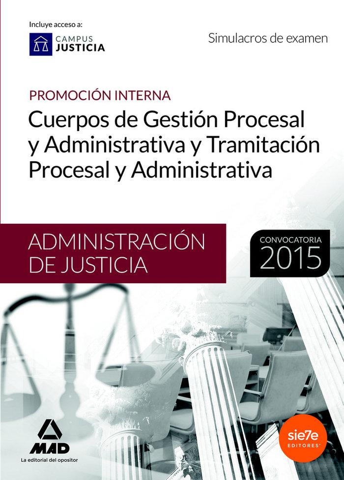 Cuerpo gestion procesal administrativa simulacro examen