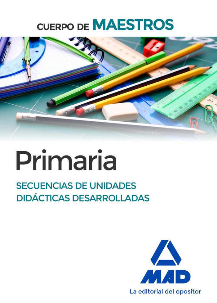 Cuerpo de maestros ed primaria secuencia de unidades ne