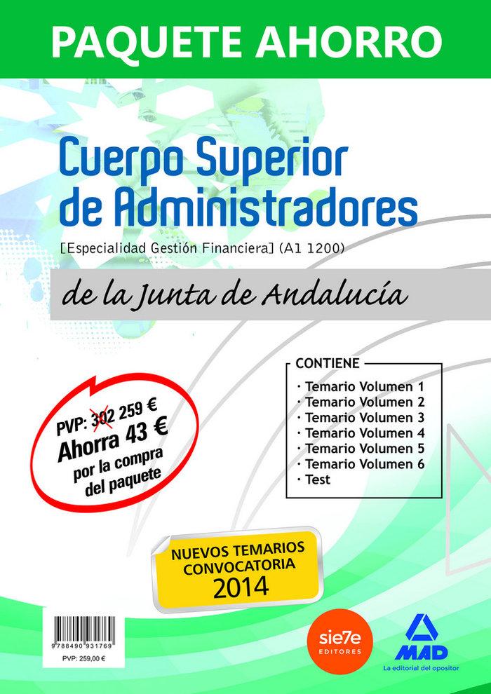 Paquete ahorro cuerpo superior administradores junta andalu