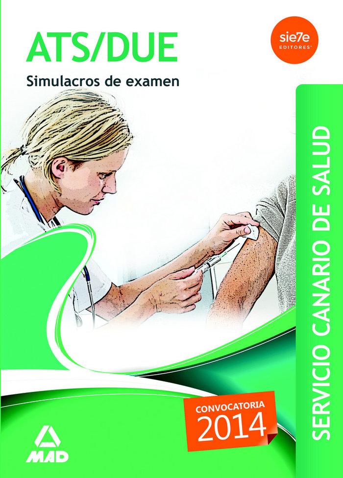 Ats/due servicio canario de salud convocatoria 2014  simulac