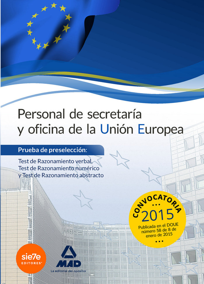 Personal de secretaria y oficina de la union europea. prueba