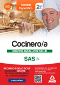 Cocinero/a servicio andaluz de salud temario vol 2 especifi