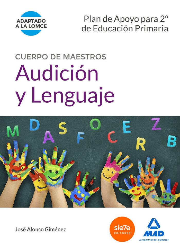 Cuerpo maestros audiciion y lenguaje plan apoyo 2ºe.primari