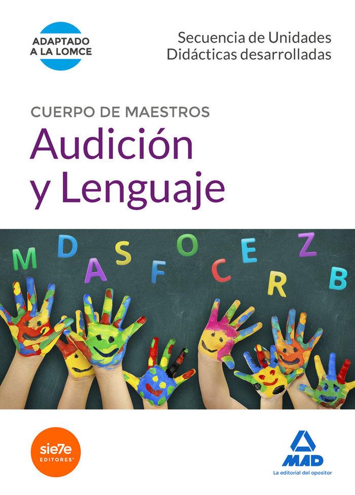 Cuerpo de maestros audicion y lenguaje