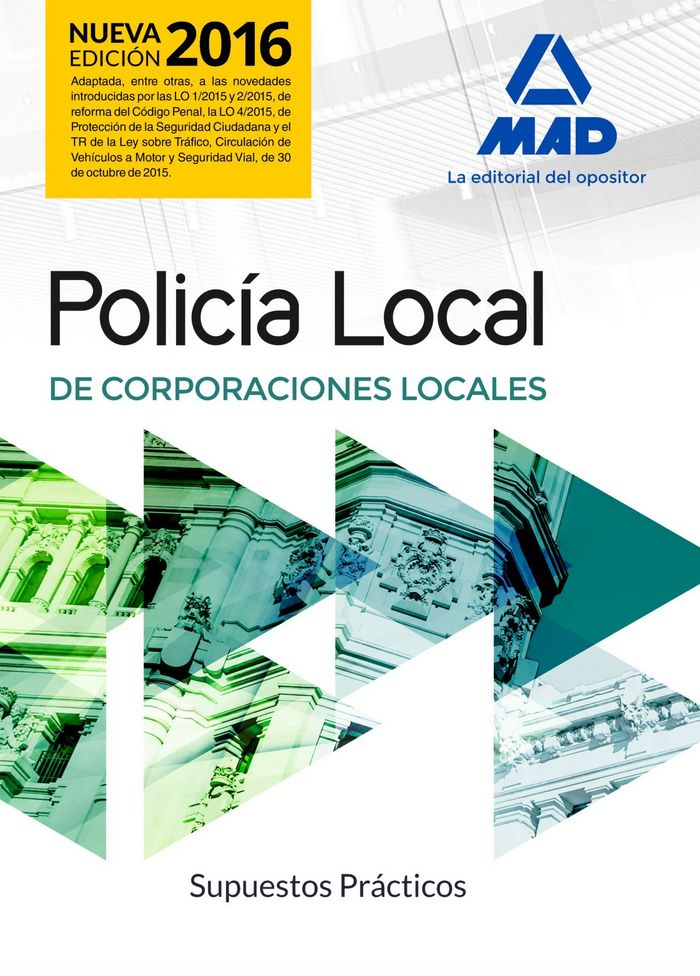 Policia local. supuestos practicos