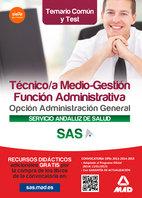 Tecnico/a medio gestion funcion administrativa opcion admin