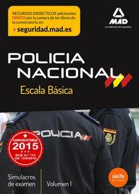Escala basica de policia nacional simulacros de examen 1
