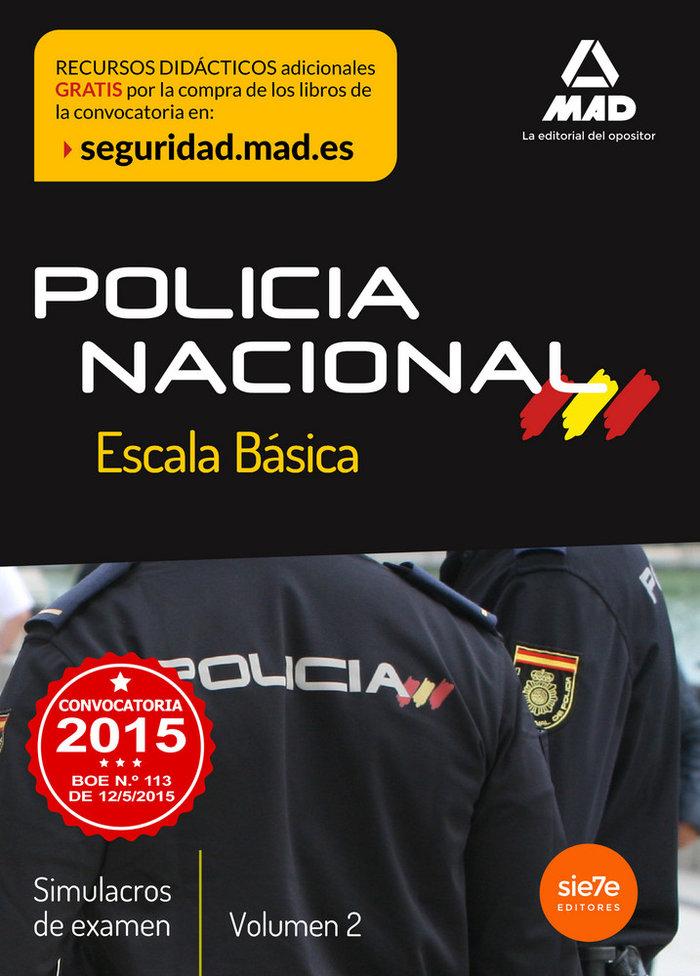Escala basica de policia nacional simulacros de examen 2