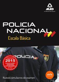 Nuevos simulacros examen policia nacional