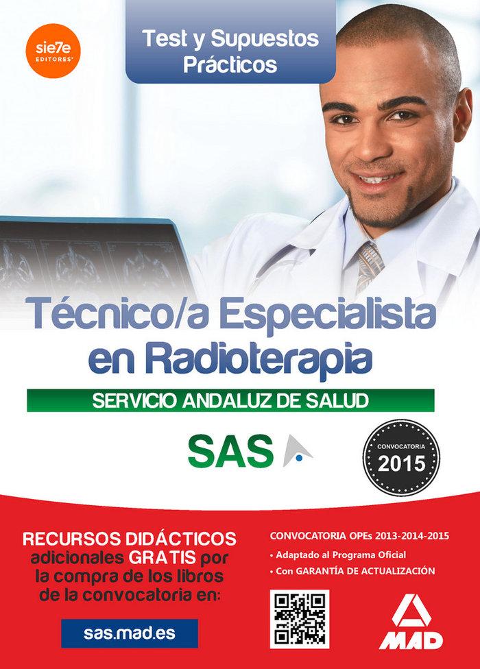 Tecnico/a especialista radioterapia sas test supuestos prac