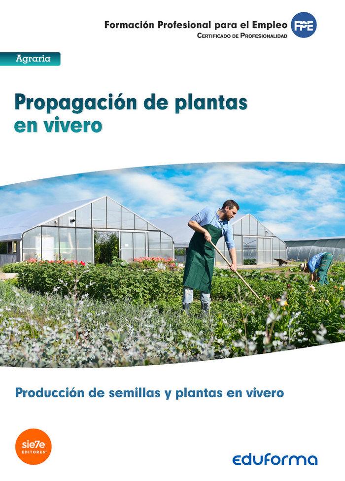 Propagacion de plantas en vivero certificado de profesional