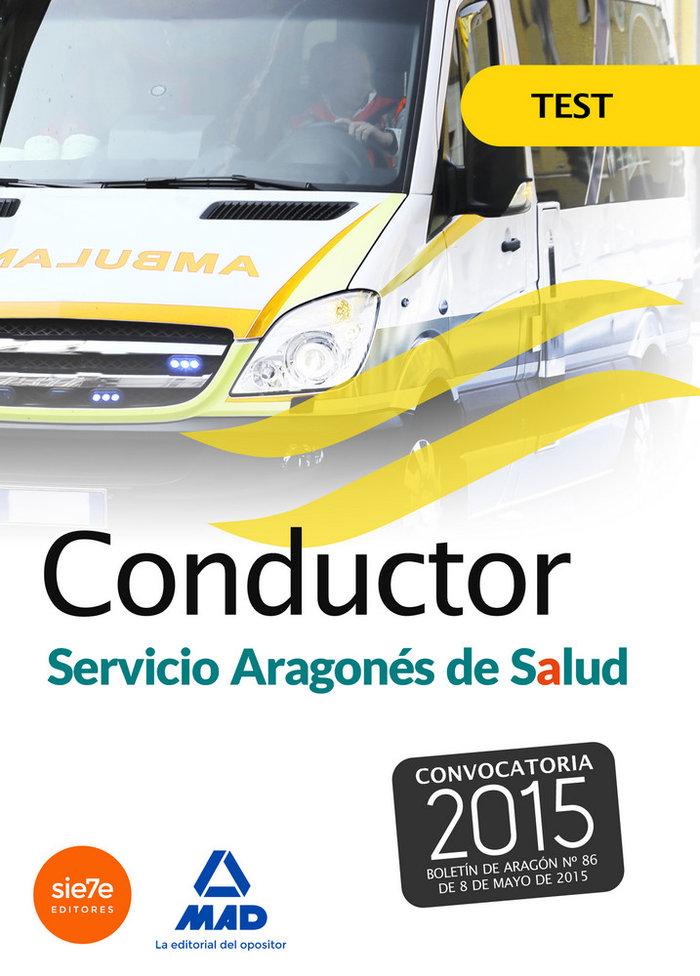 Conductores del servicio aragones de salud (salud-aragon). t