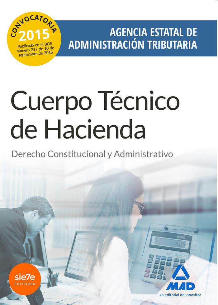 Cuerpo tecnico de hacienda convocatoria 2015