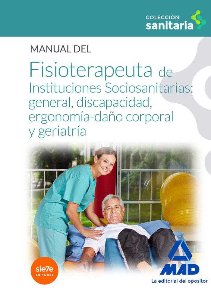 Manual fisioterapeuta instituciones sociosanitarias general