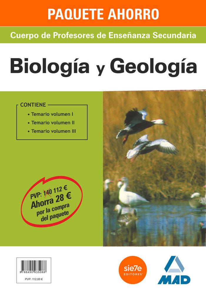 Pack ahorro biologia y geologia profesores enseñanza secund