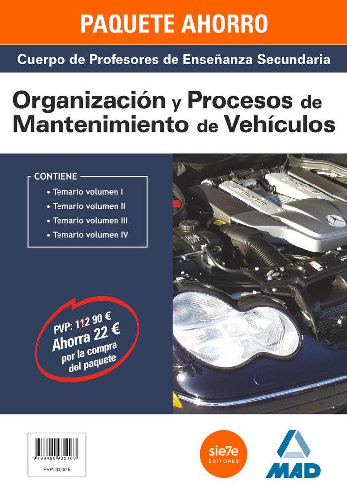 Pack ahorro mantenimiento vehiculos