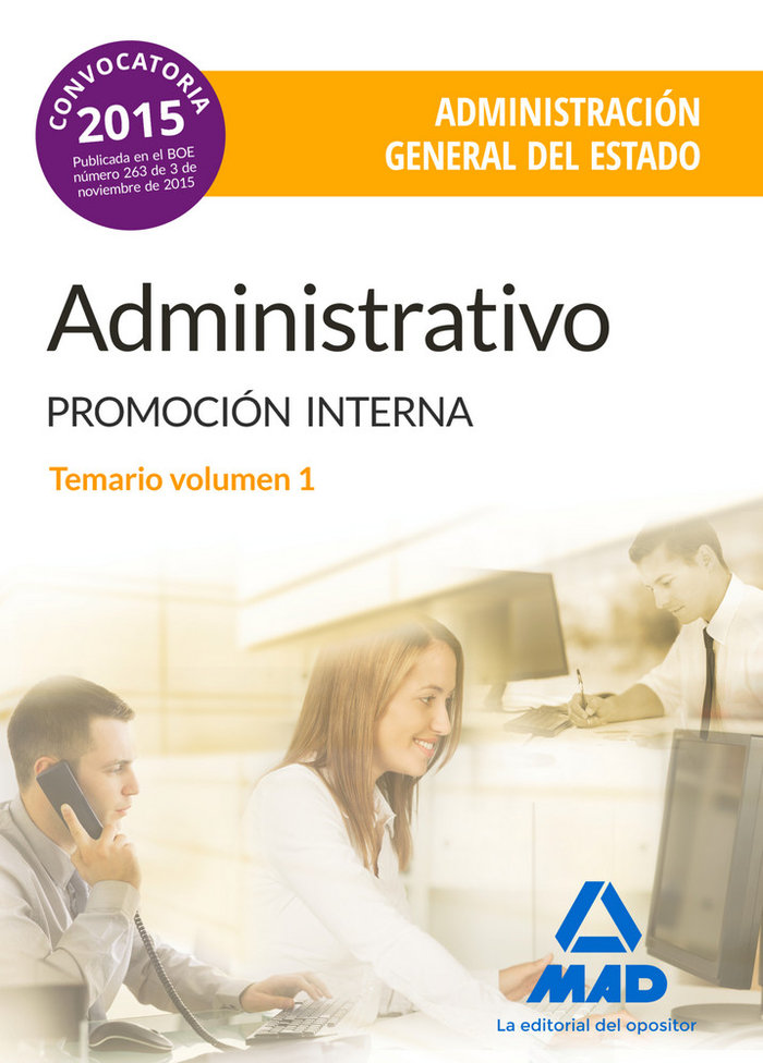 Administrativo de la administracion general del estado (prom