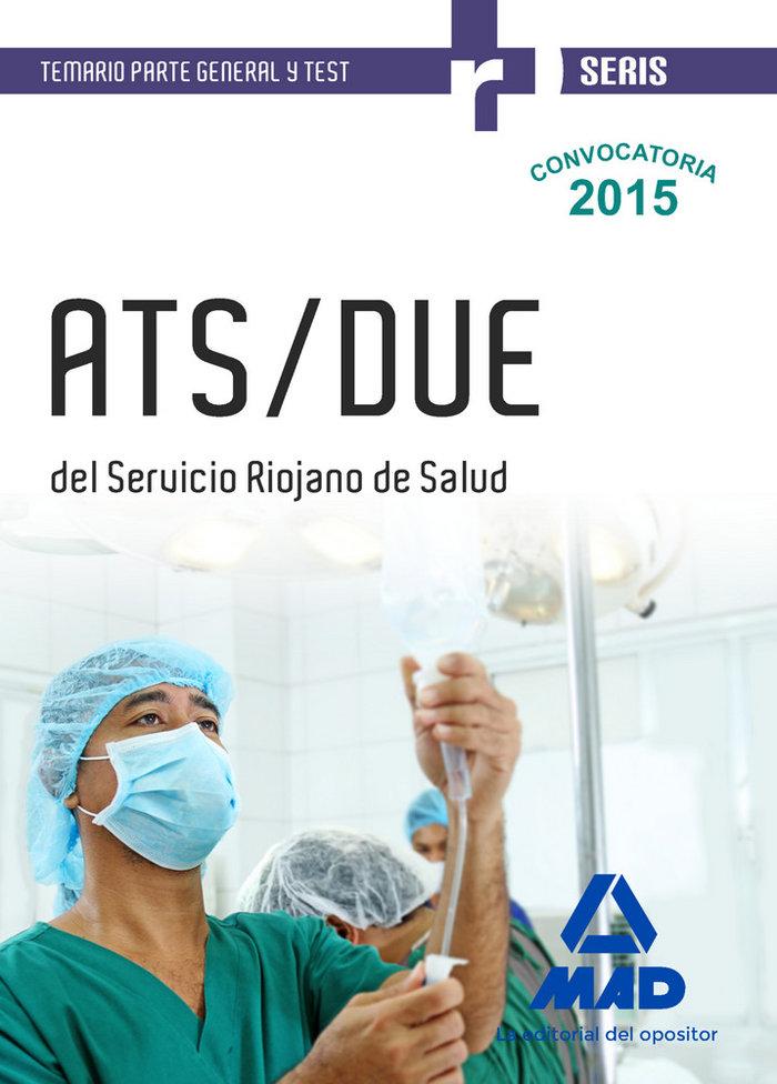 Ats/due del servicio riojano de salud. temario parte general