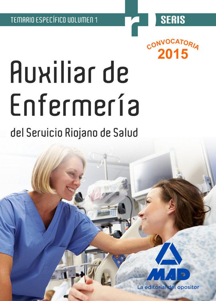 Auxiliares de enfermeria del servicio riojano de salud.