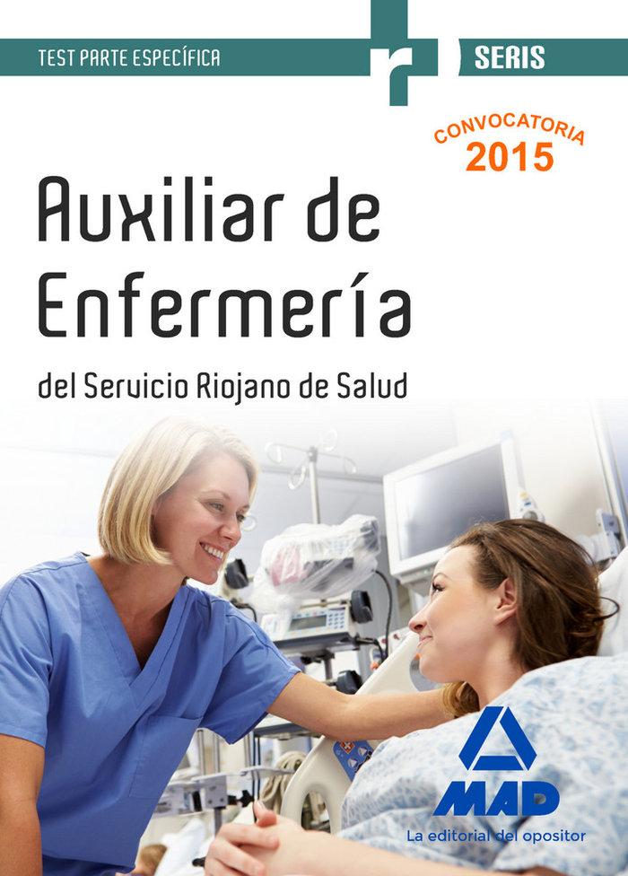 Auxiliares de enfermeria del servicio riojano de salud. test
