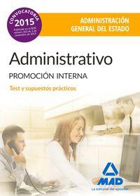 Administrativo de la administracion general del estado