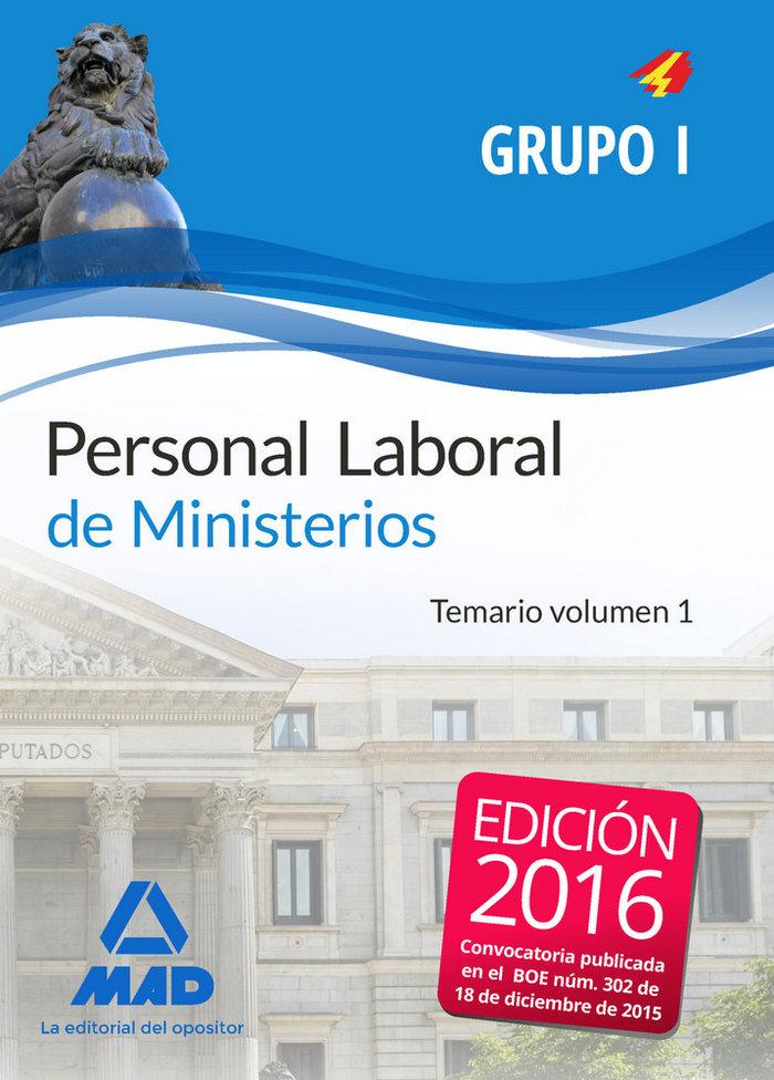 Personal laboral de ministerios grupo i.