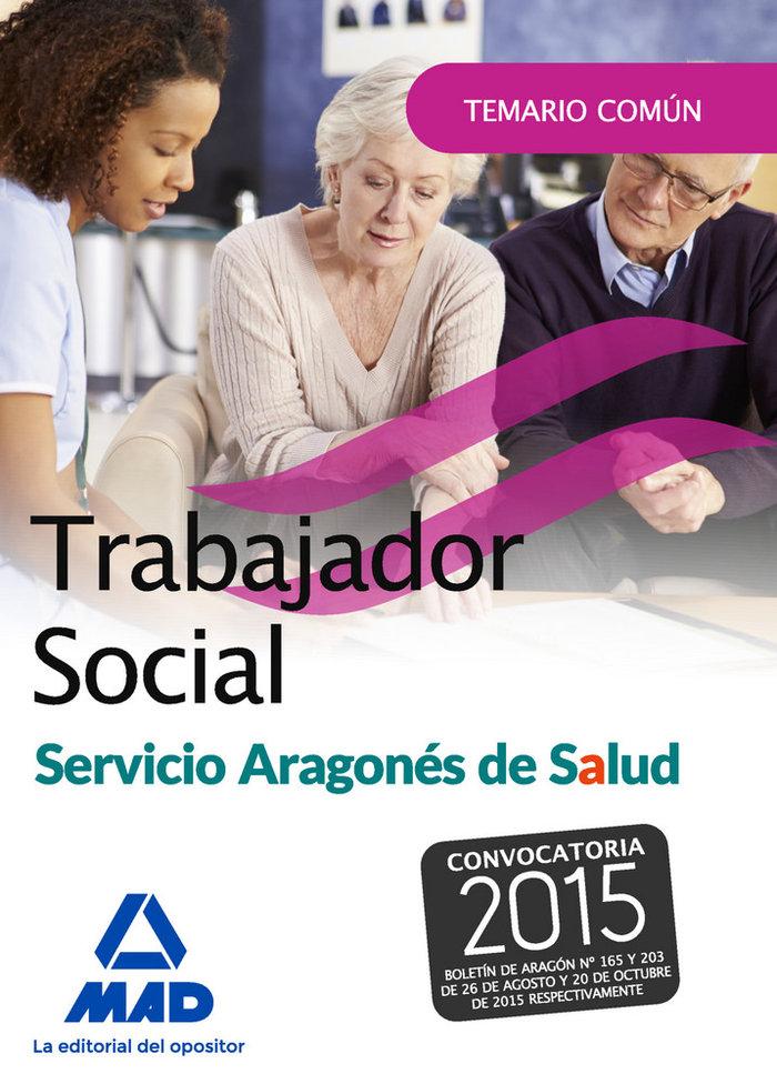 Trabajador social del servicio aragones de salud. temario pa