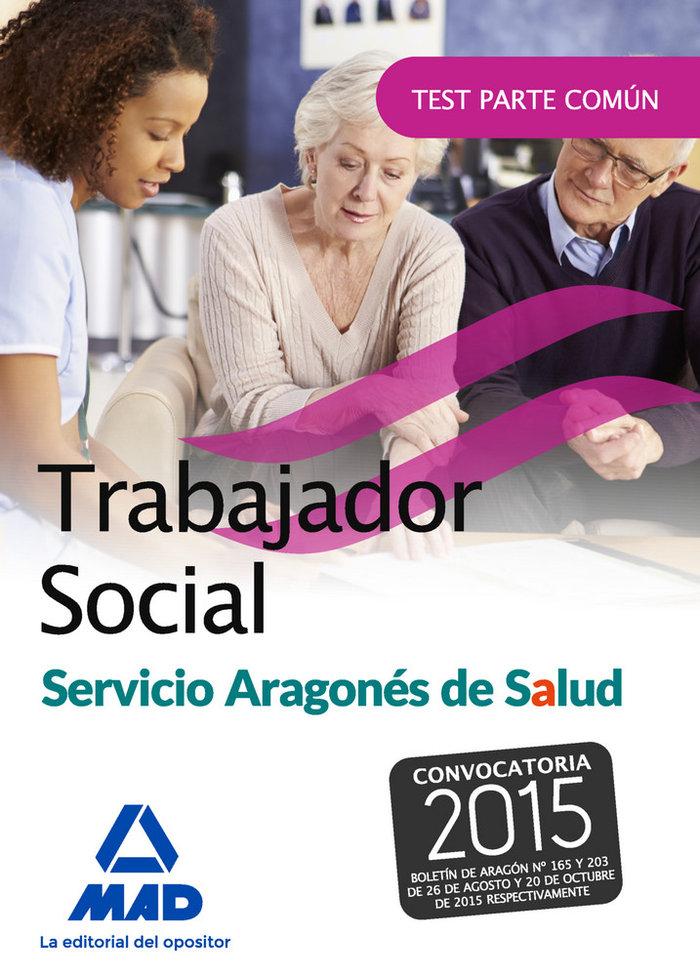 Trabajador social del servicio aragones de salud. test parte