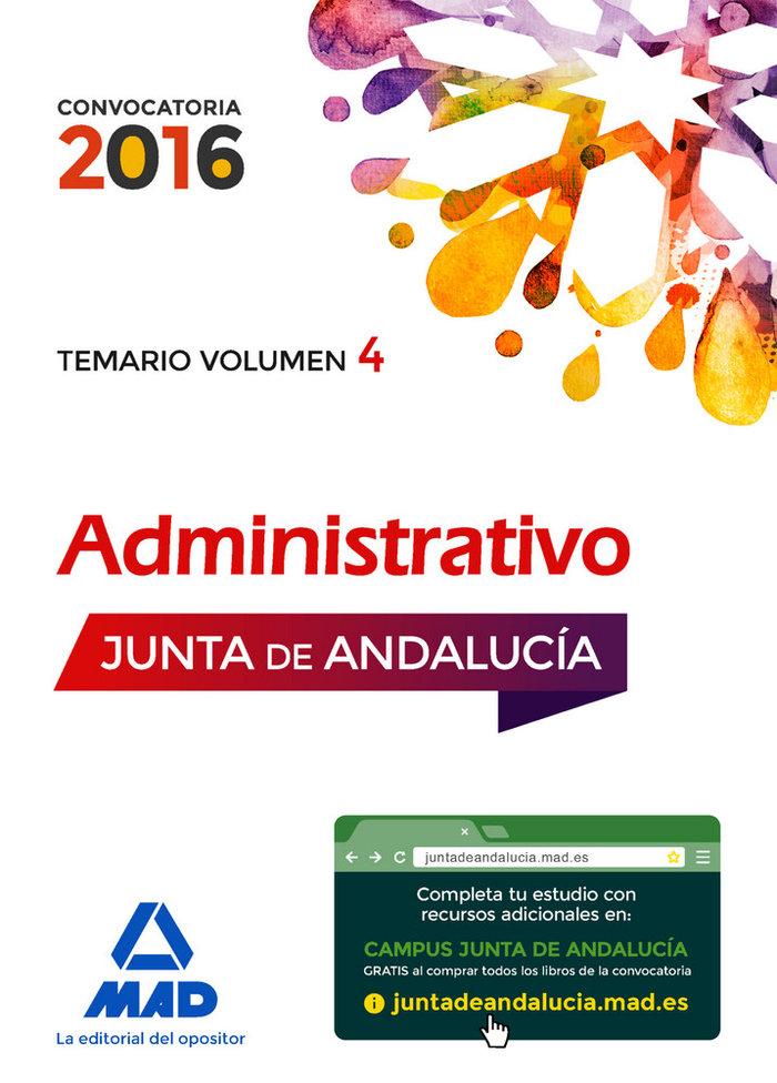 Administrativos junta andalucia turno libre temar iv 2016