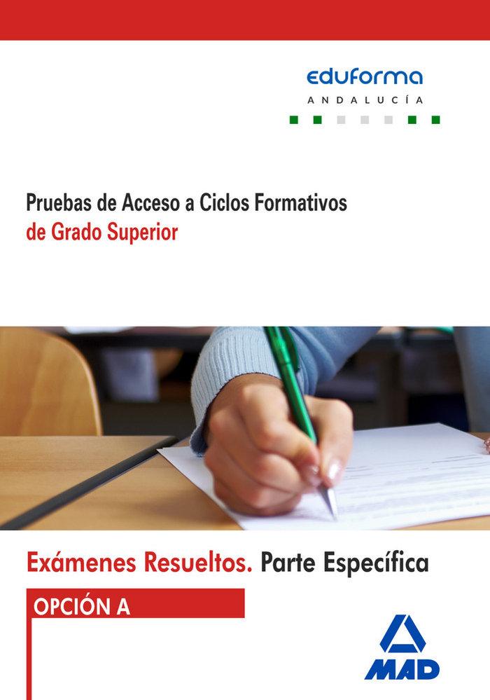Examenes resueltos de pruebas de acceso a ciclos formativos