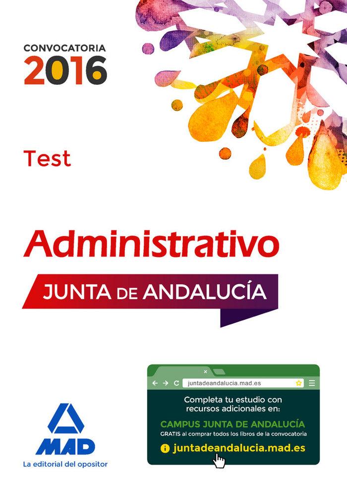 Administrativos junta andalucia turno libre test