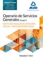 Operario/a de servicios generales, grupo e , del instituto i