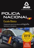 Policia nacional ortografia ejercicios y simulacros ortogra