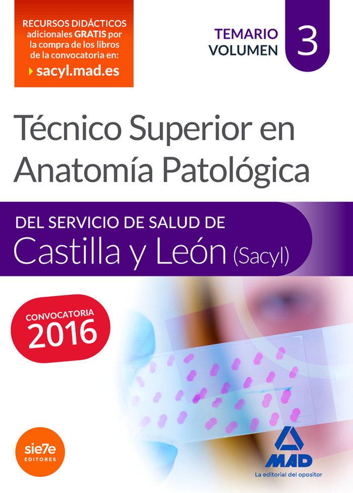 Tecnico superior en anatomia patologica, del servicio de sal