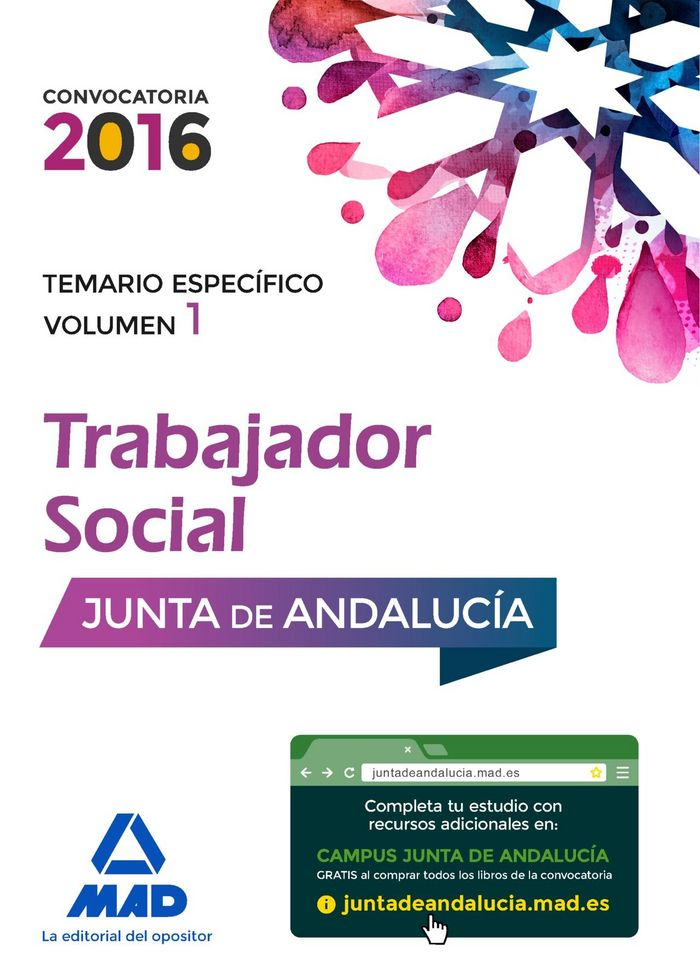 Trabajadores sociales de la junta de andalucia. temario espe