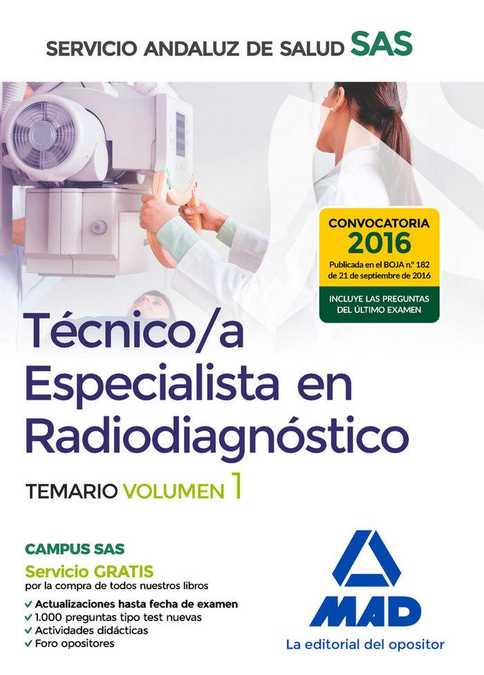 Tecnico especialista en radiagnostico especicico vol 1
