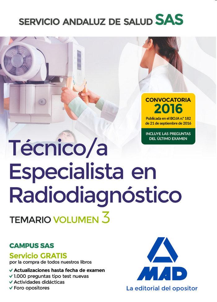 Tecnico especialista en radiagnostico especicico vol 2