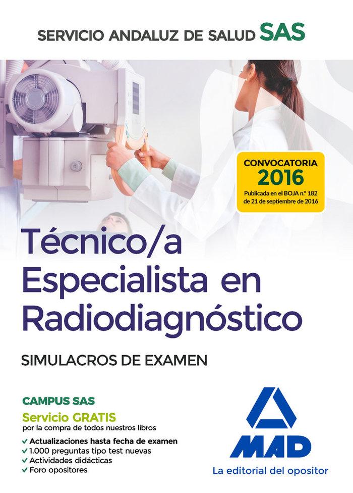 Tecnico especialista en radiagnostico simulacro examen
