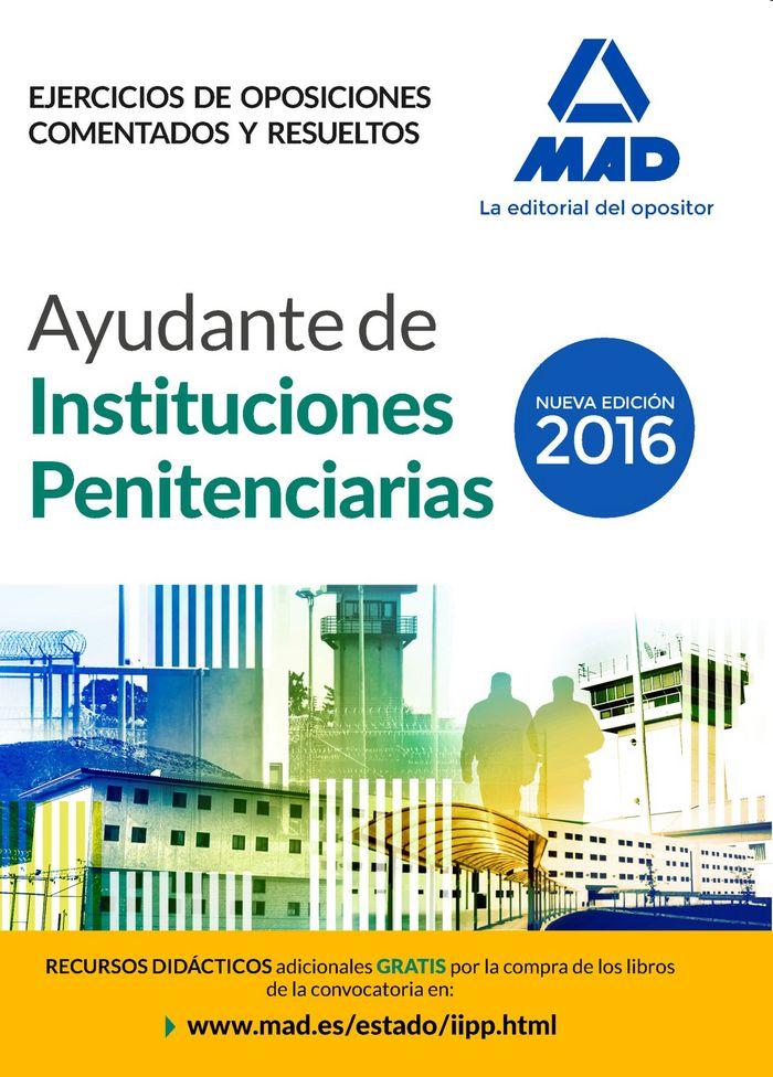 Ayudante institucion penitenciaria ejercicios oposiciones