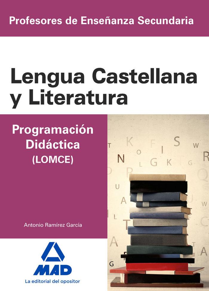 Cuerpo de profesores de enseñanza secundaria. lengua castell