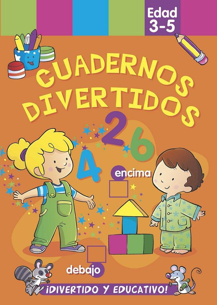 Cuadernos divertidos edad 3 5 años