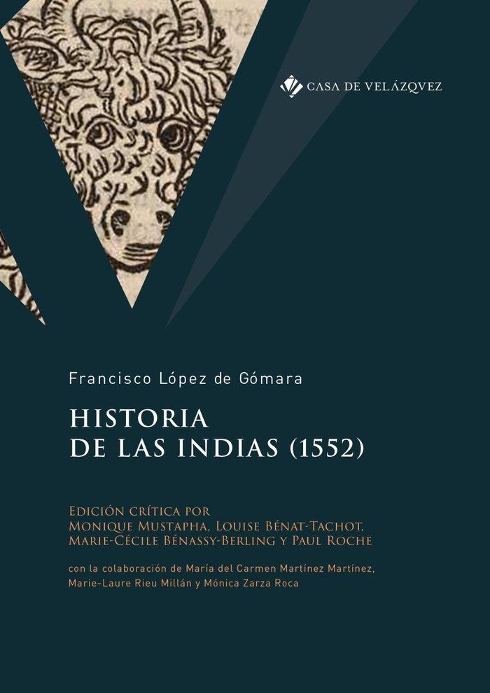 Historia de las indias 1552