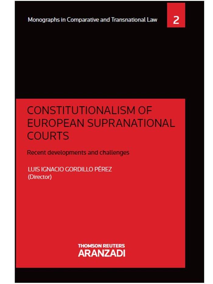 Constitutionalism of european supranational courts