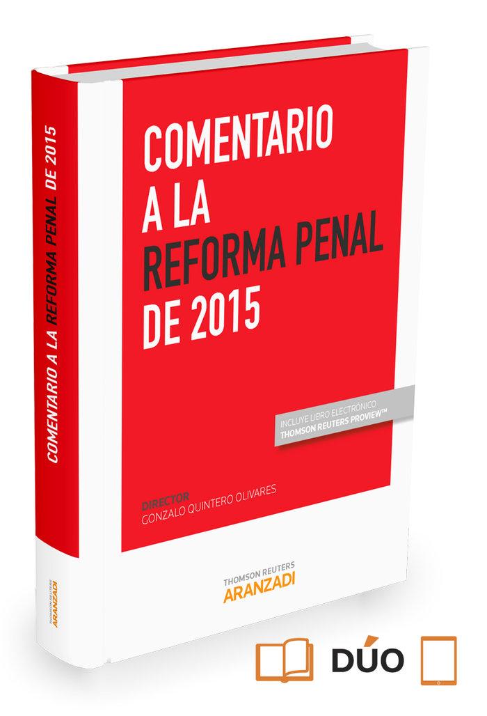 Comentario a la reforma penal de 2015 (papel + e-book)