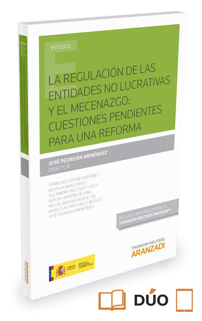Regulacion de las entidades no lucrativas y mecenazgo