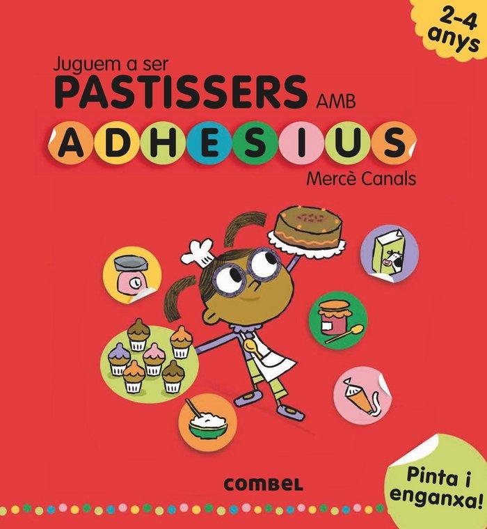 Juguem a ser pastissers amb adhesius