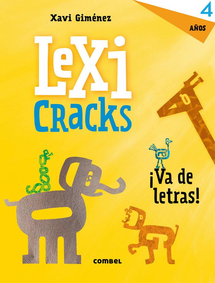 Lexicracks va de letras 4 años
